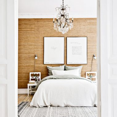 Copy Cat Chic Room Redo | Textured Modern Bedroom