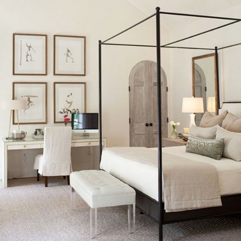 Copy Cat Chic Room Redo Serene Neutral Master Bedroom