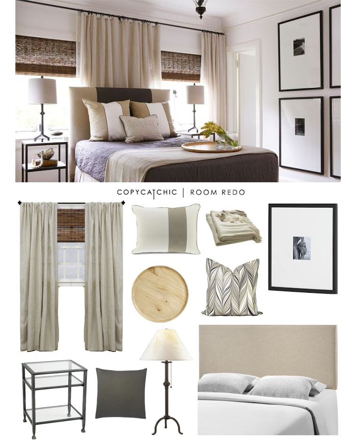 Copy Cat Chic Room Redo | Layered Traditional Bedroom