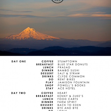 36 Hours | Portland Oregon
