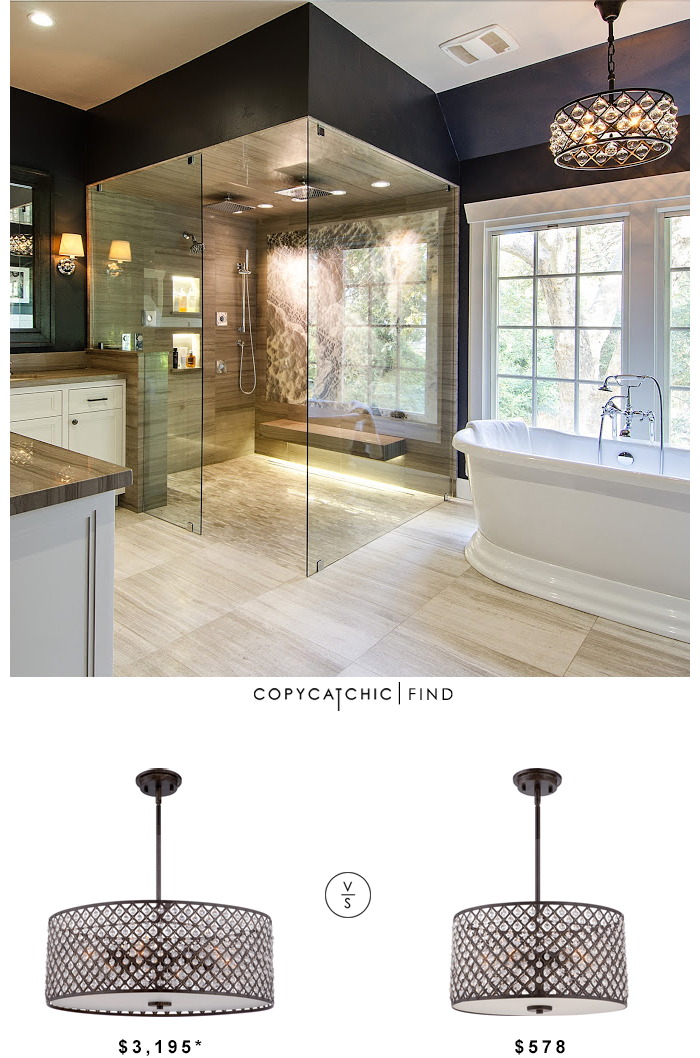 Restoration hardware spencer chandelier copycatchic Restoration hardware bathroom lighting