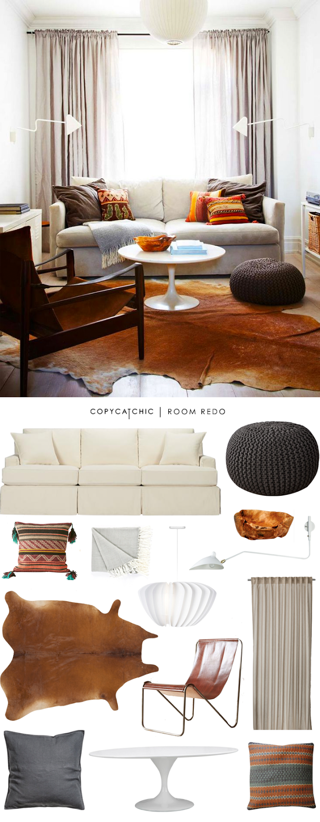 Copycatchic-Cozy-Boho-Eclectic-Living-Room-1 - copycatchic
