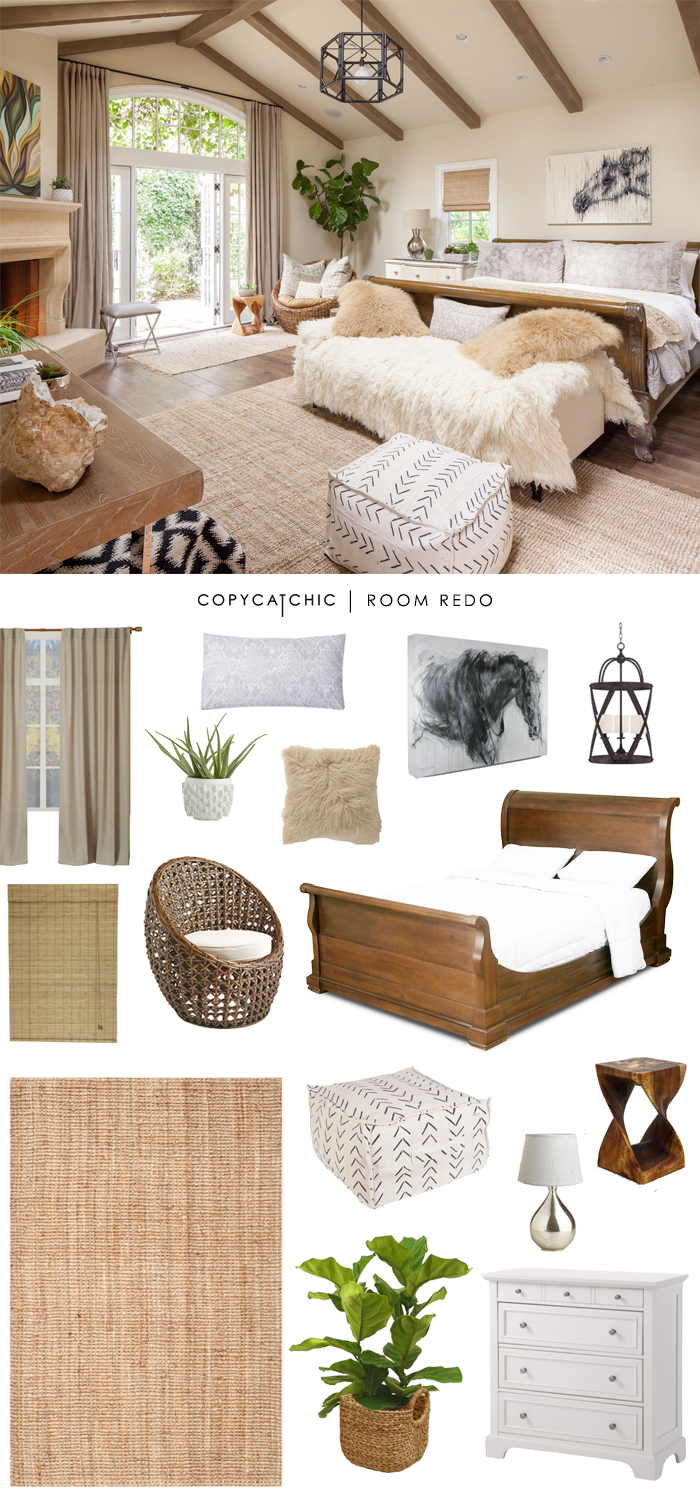 Copy Cat Chic Room Redo Earthy Amp Serene Bedroom Copycatchic