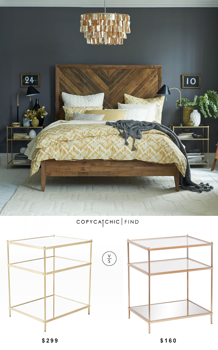 West Elm Terrace Nightstand $299 vs Overstock Upton Home Jacana Side/ End Table $160