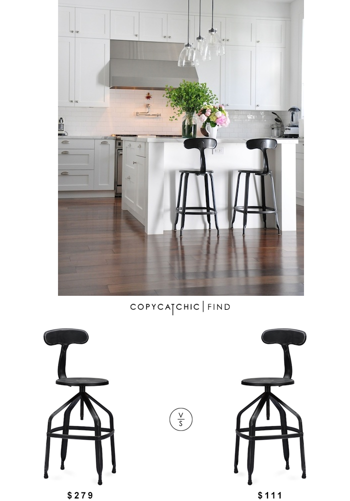 Restoration Hardware French T Back Stool Copycatchic