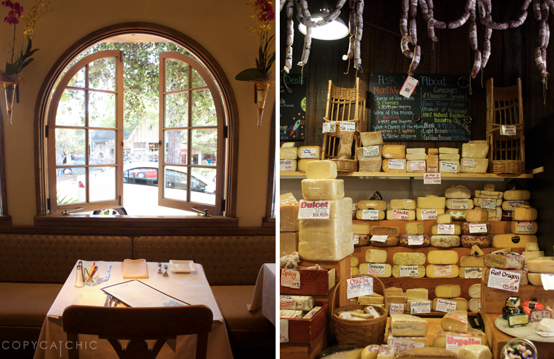 The Grill on Ocean Ave and The Cheese Shop Copy Cat Chic 36 hours in Carmel California Travel Guide