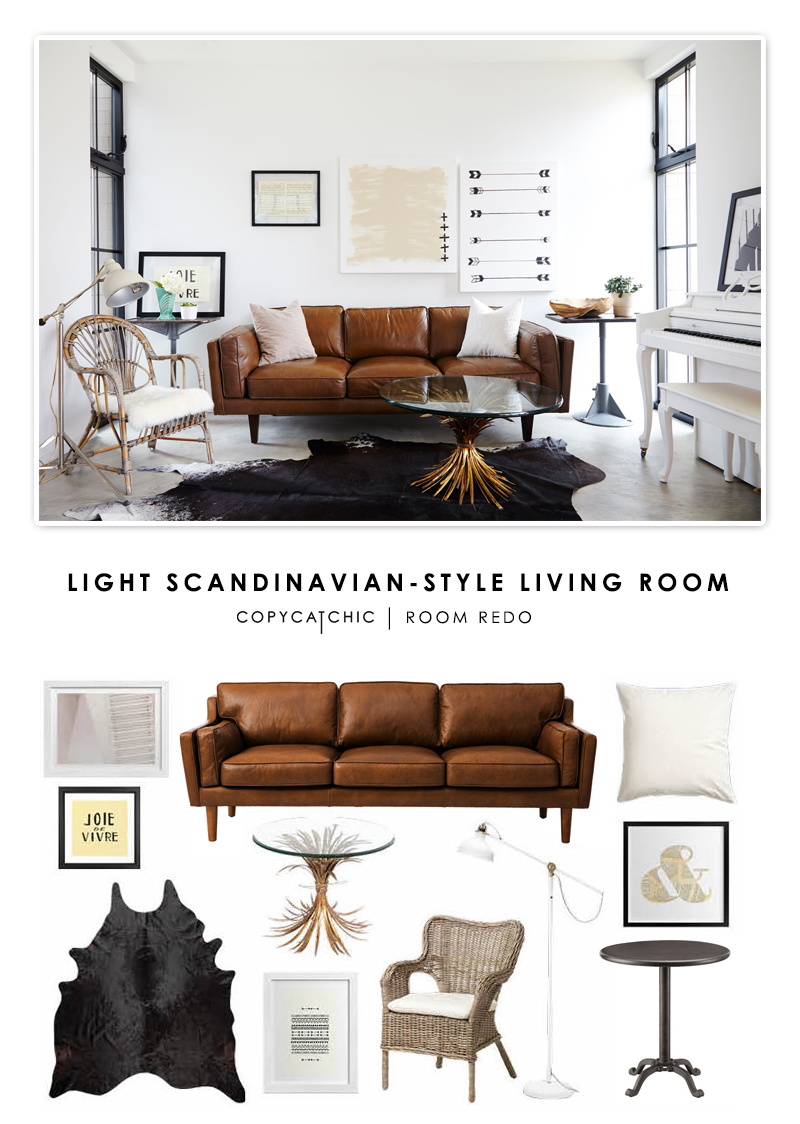 Copy Cat Chic Room Redo Light Amp Neutral Living Room