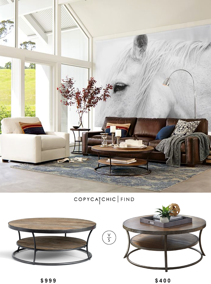 Admirable Pottery Barn Bartlett Reclaimed Wood Coffee Table Copycatchic Pdpeps Interior Chair Design Pdpepsorg