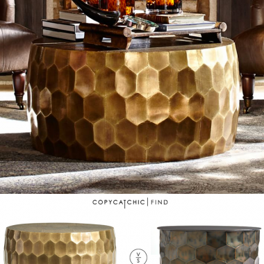 Coffee Table Archives Page Of Copycatchic - Pottery barn marble coffee table