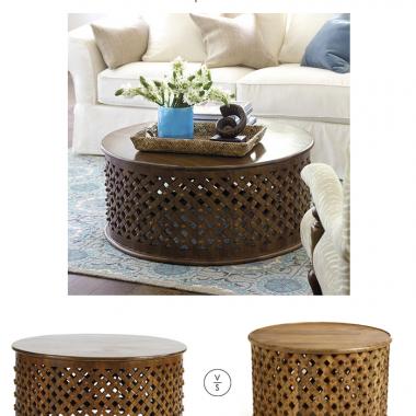 Ballard Designs Bornova Coffee Table
