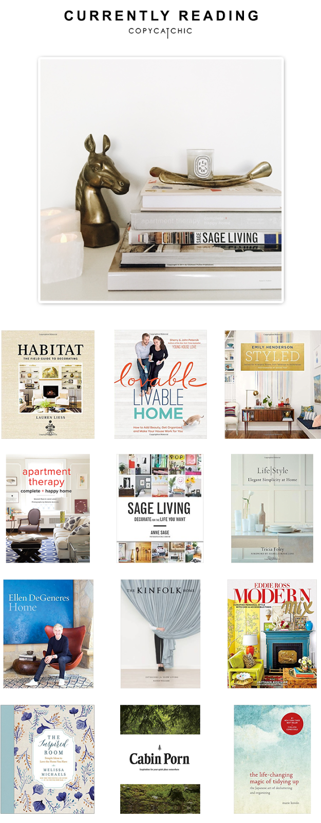 The Copy Cat Chic Must Have List Of Newly Released Home Decor Interior Design Books