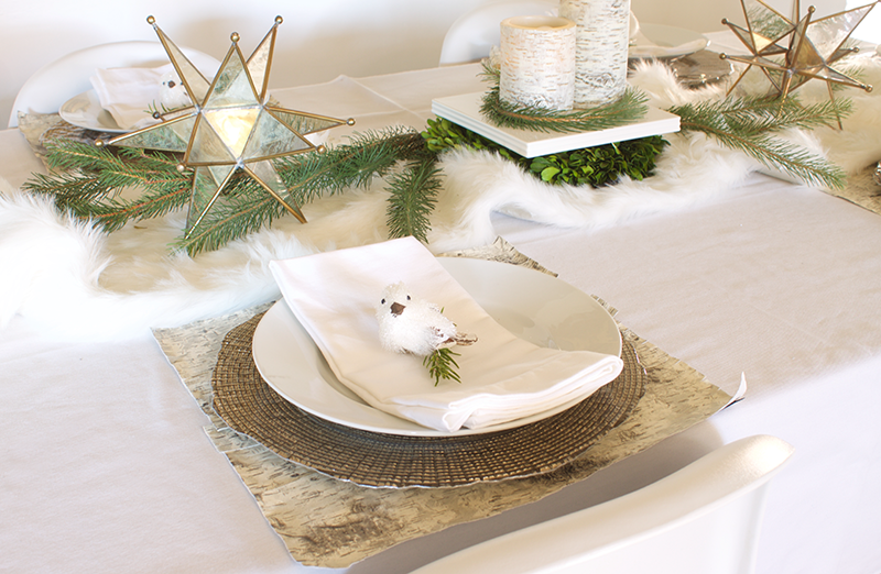 Decorating your table for holiday entertaining with Copy Cat Chic and Pier 1 Imports
