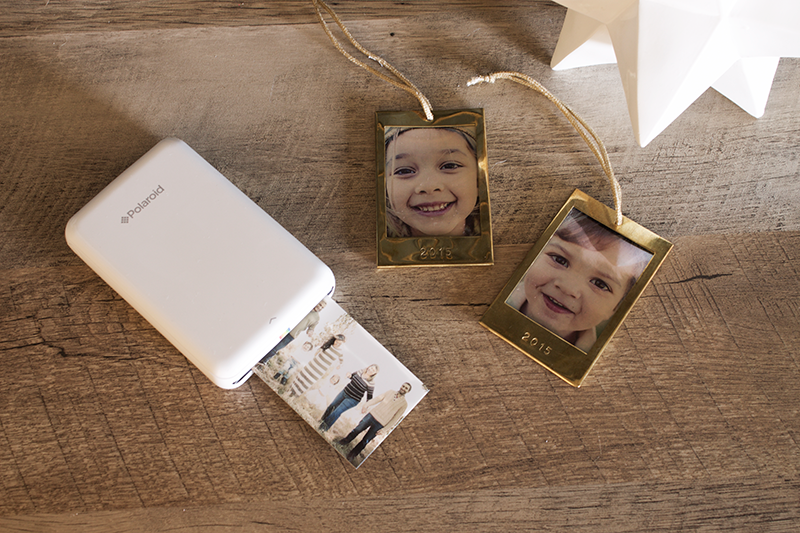 Copy Cat Chic #Fiveforfifty Urban Outfitters Polaroid Zip Mobile Printer and Gold Frame Ornaments