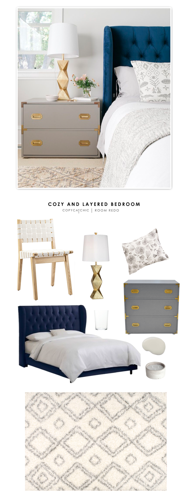 Copy Cat Chic Room Redo Cozy And Layered Bedroom