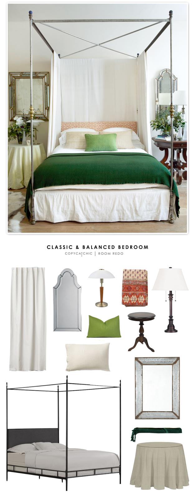 Copy Cat Chic Room Redo Classic Amp Balanced Bedroom