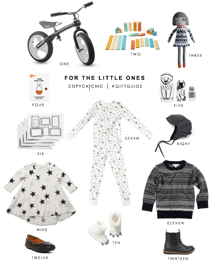 Copy Cat Chic Gift Guide | Favorite Picks for the Little Ones