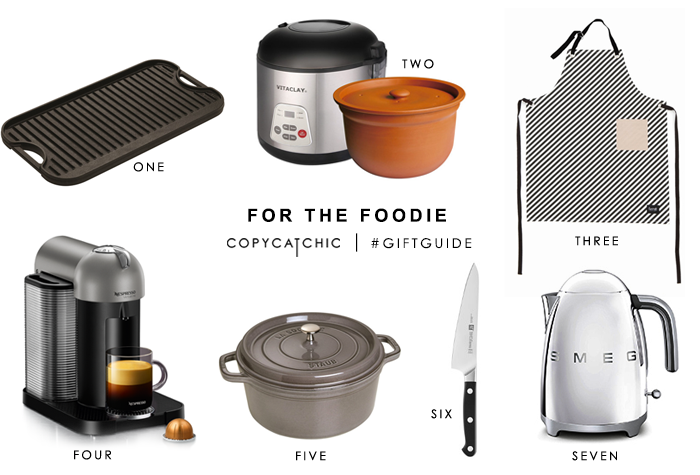 Copy Cat Chic Gift Guide | great gifts for food lovers