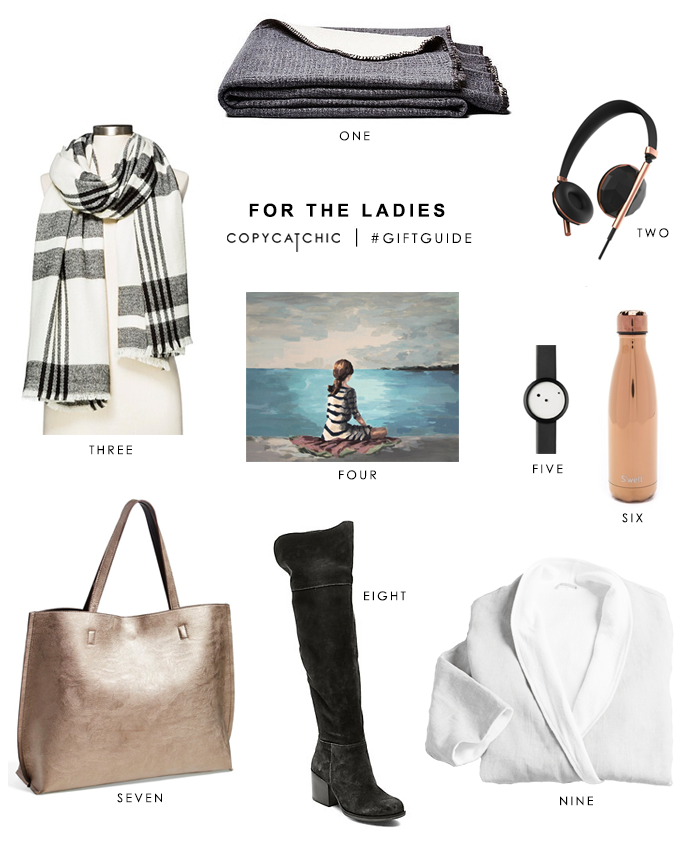 Copy Cat Chic Gift Guide fun picks for the ladies and a giveaway with Coyuchi