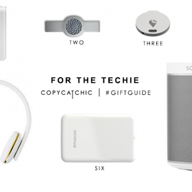 Copy Cat Chic Gift Guide | Gifts for the Techie and a Giveaway