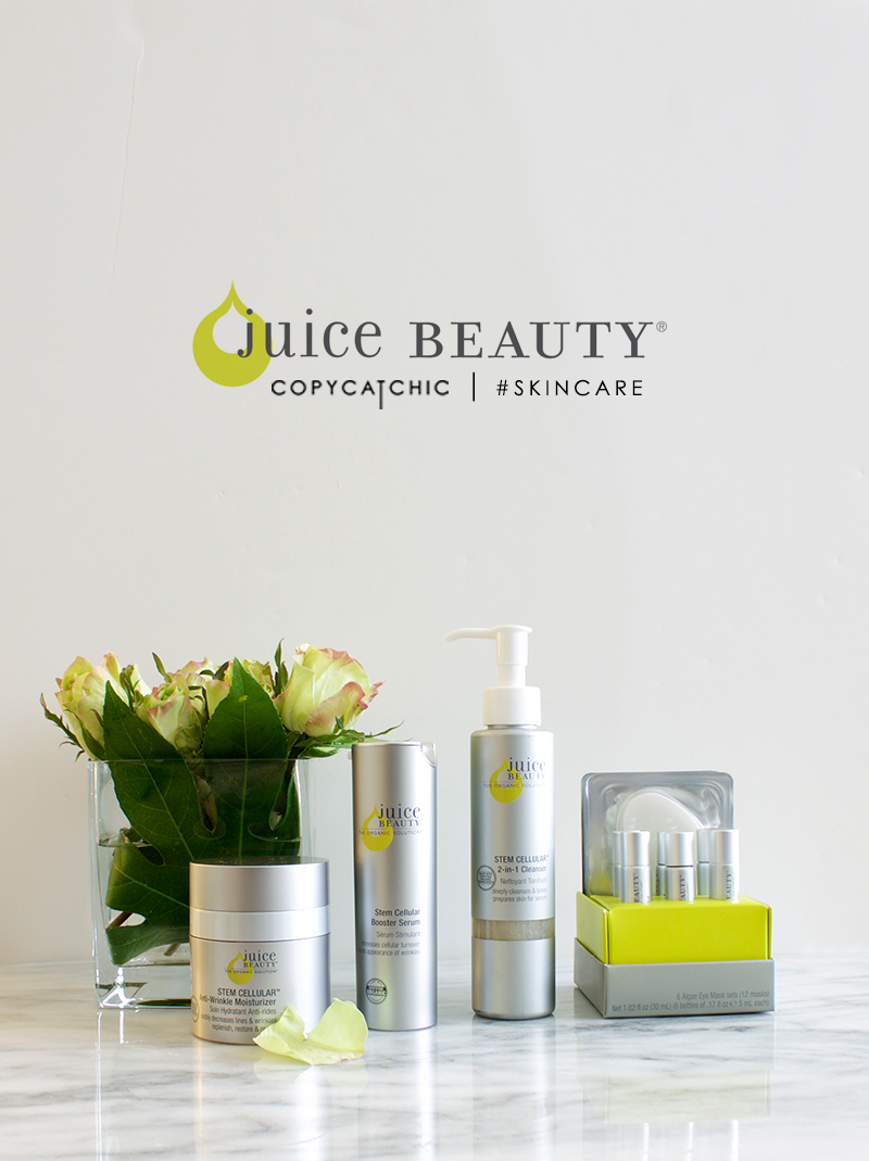 Brand Spotlight | Juice Beauty and Giveaway - Copy Cat Chic
