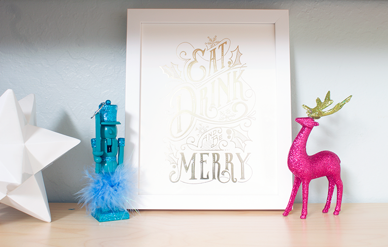 Decorating the Kid's Room for Christmas with Copy Cat Chic and Pier 1 Imports