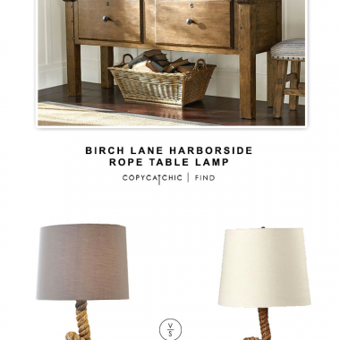 Birch Lane Harborside Rope Table Lamp