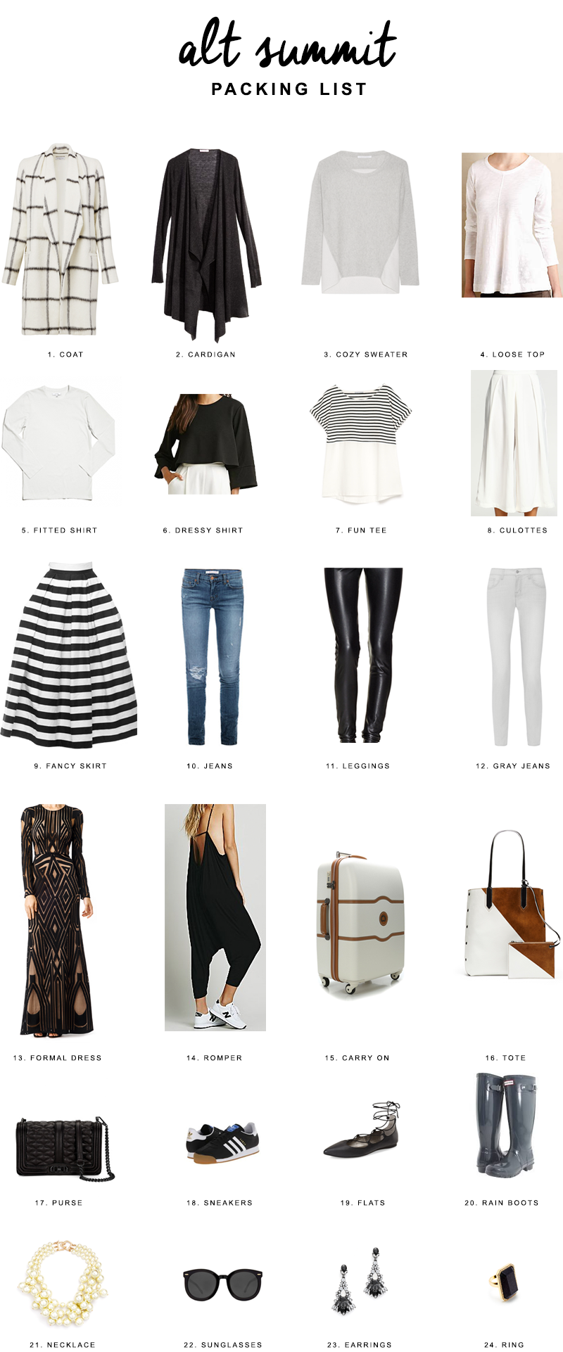 Reichel Broussard | Copy Cat Chic | What to pack for Alt Summit