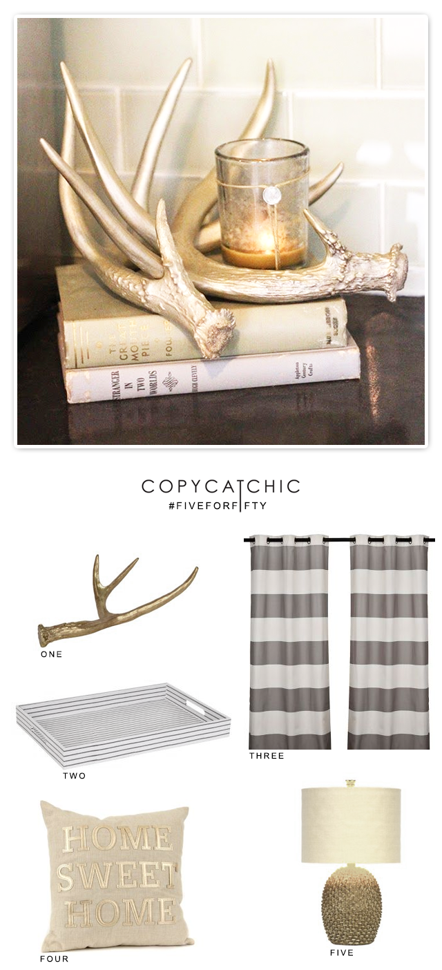 Copy Cat Chic | Five of my favorite home decor items from Kirkland's for under $50.