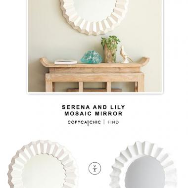 Serena and Lily Mosaic Mirror