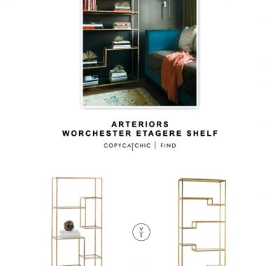 Arteriors Worchester Etagere Shelf