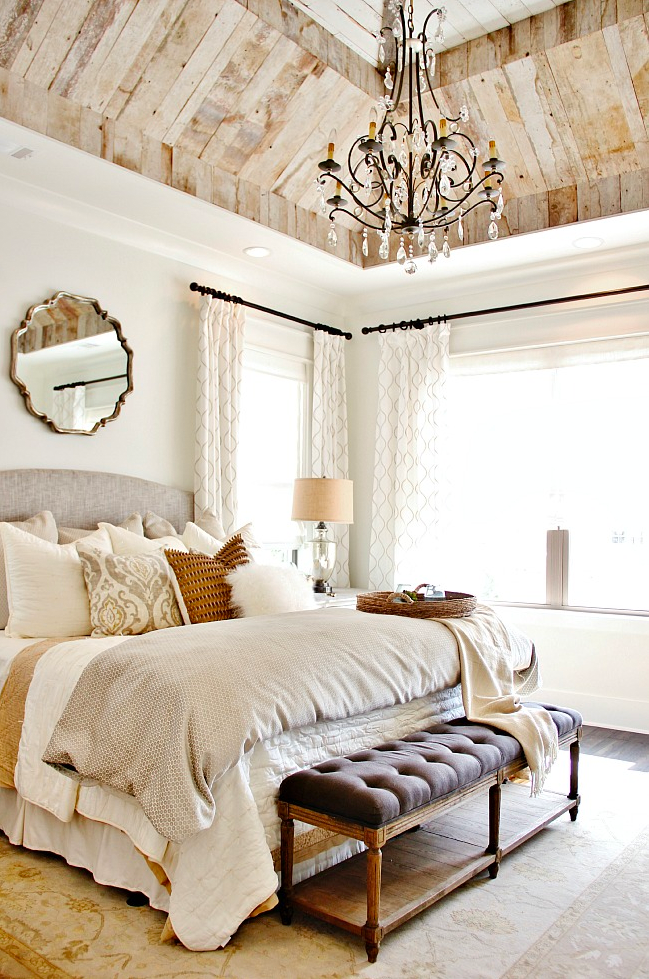 Copy Cat Chic Room Redo Rustic Glam Bedroom Copy Cat Chic