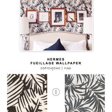 Hermes Feuillage Wallpaper