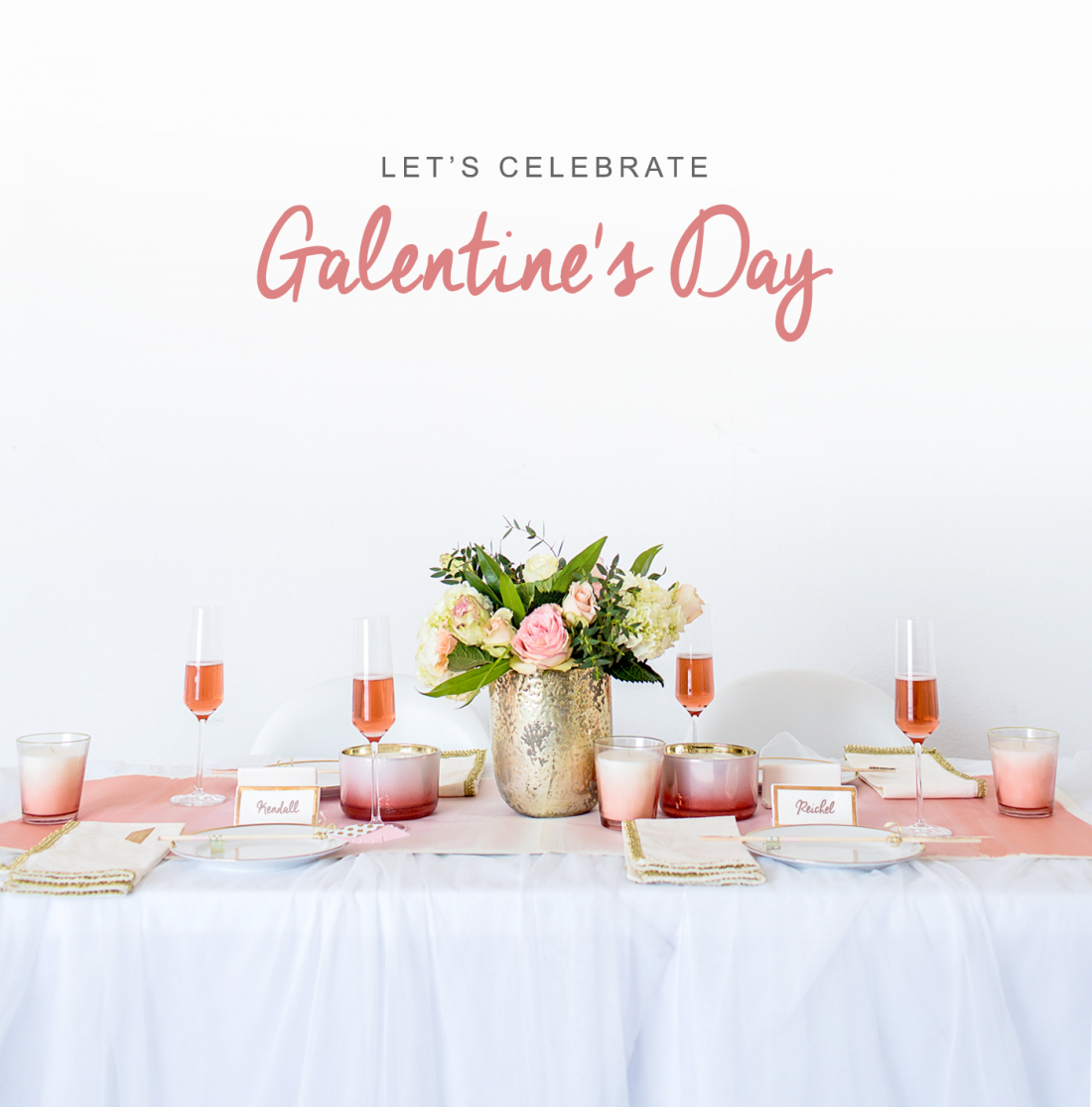 Galentine's Day Party with Pier 1 and Copy Cat Chic.
