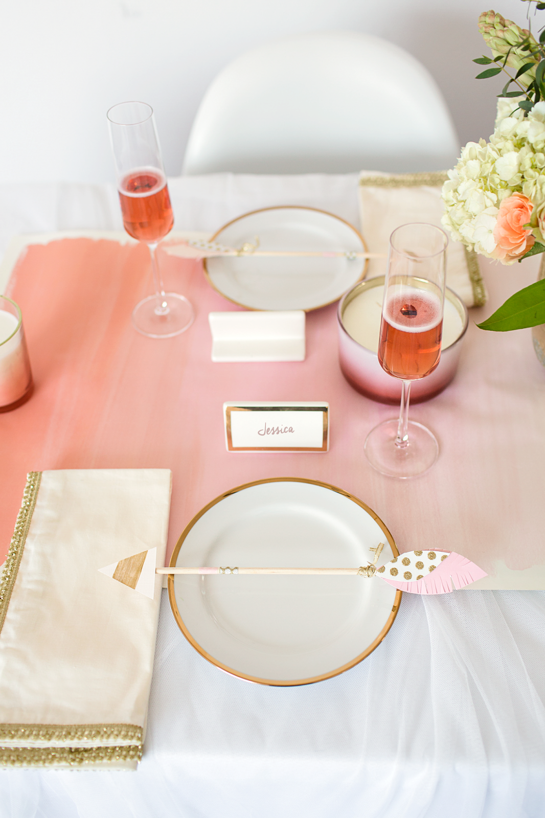 An easy and cheap way to throw a Galentine's Day Party with Pier 1 and Copy Cat Chic
