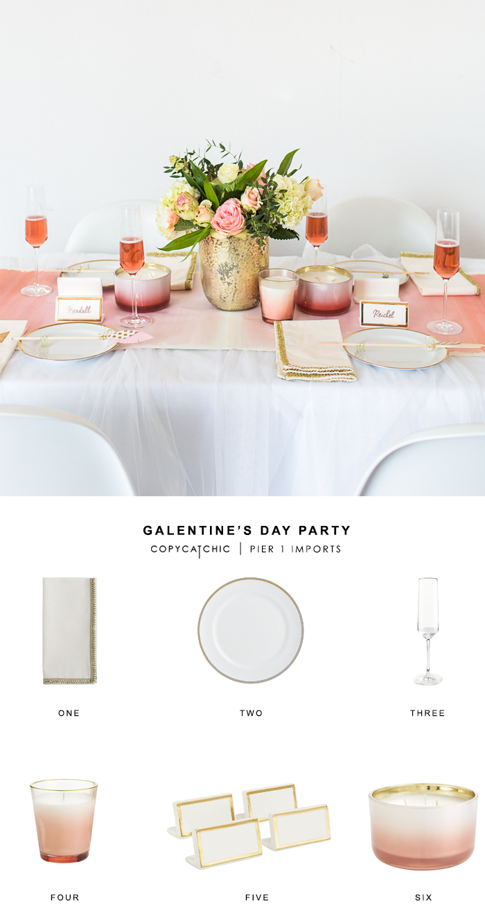 Galentine's Day Party with Pier 1 and Copycatchic