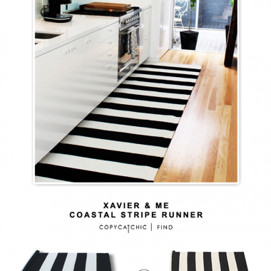 Xavier & Me Costal Stripe Runner