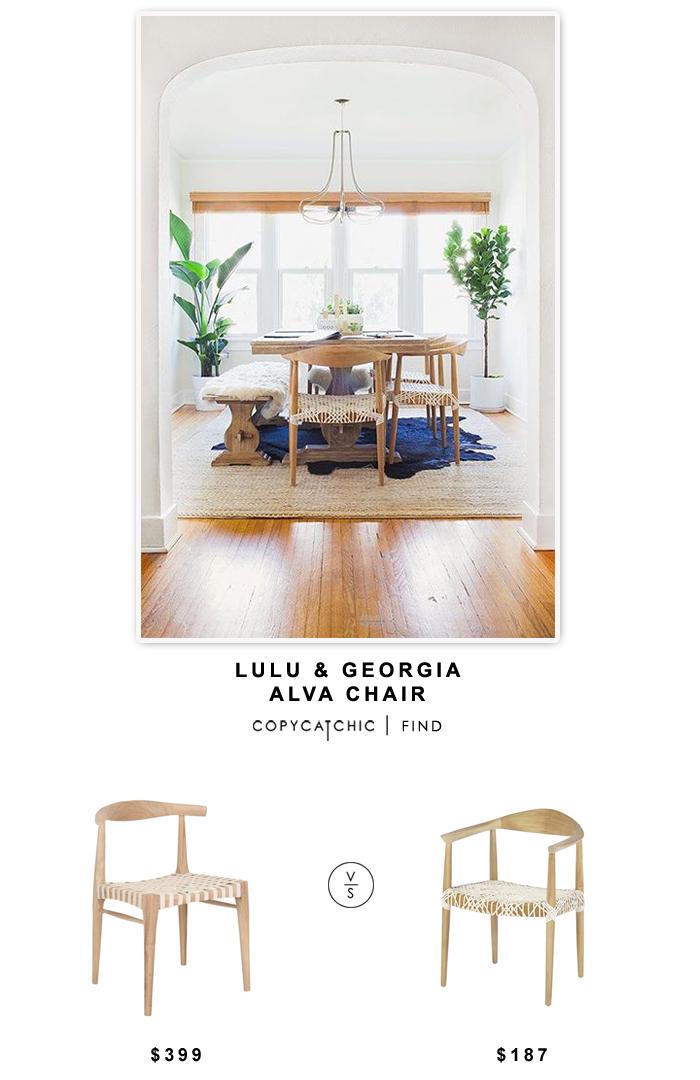 Lulu & Georgia Alva Chair $399 vs All Modern Safavieh Bentley Arm Chair $187