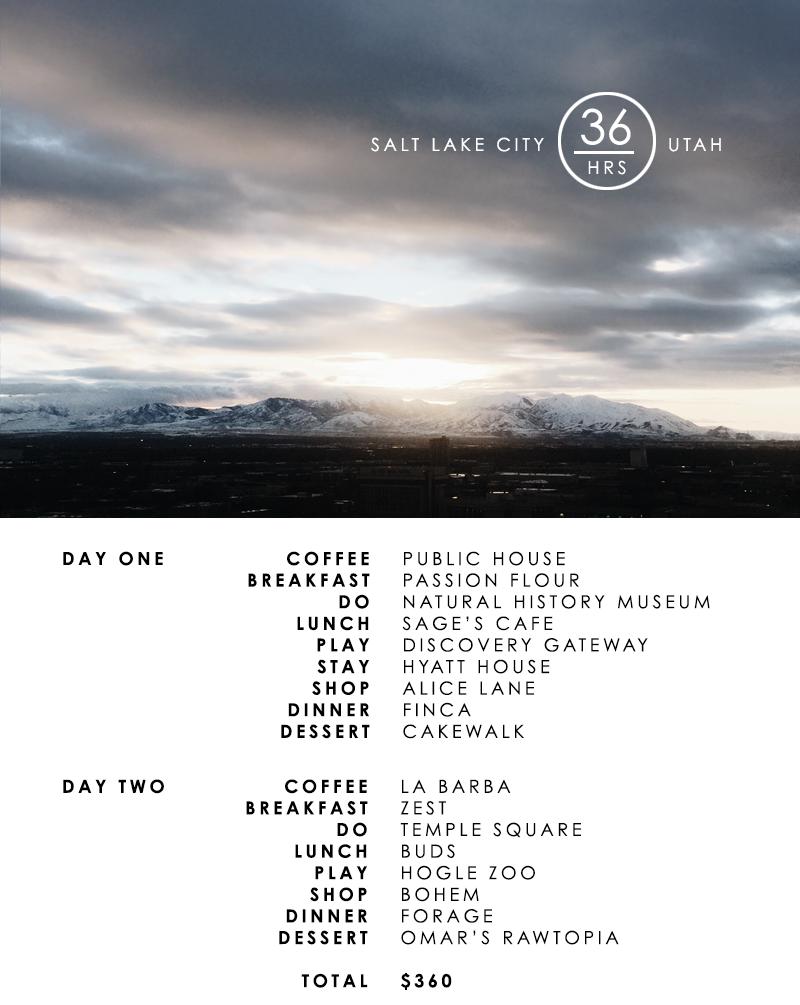 Salt Lake City in 36 Hours