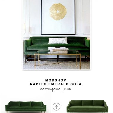 Modshop Naples Emerald Sofa