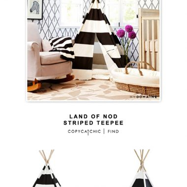 Land of Nod Striped TeePee
