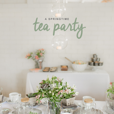 Spring Tea Party Event
