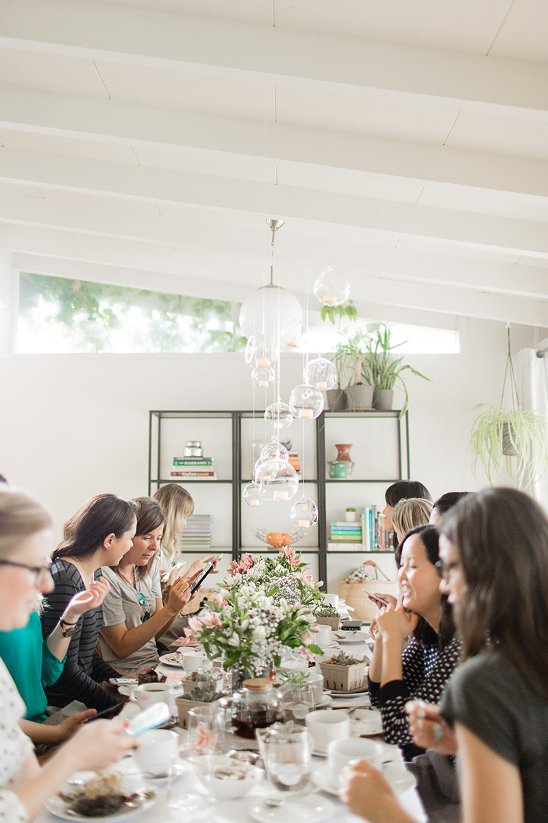 Copy Cat Chic | A spring tea party for local bloggers in partnership with World Market, Munchery, The Bouqs, The Art of Tea, Herbivore, Love Goodly, Zady, Vitality Bowls, Pop Organics