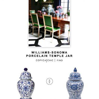 Williams-Sonoma Porcelain Temple Jar