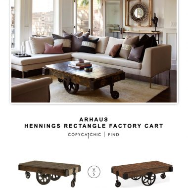 Arhaus Hennings Rectangular Cart