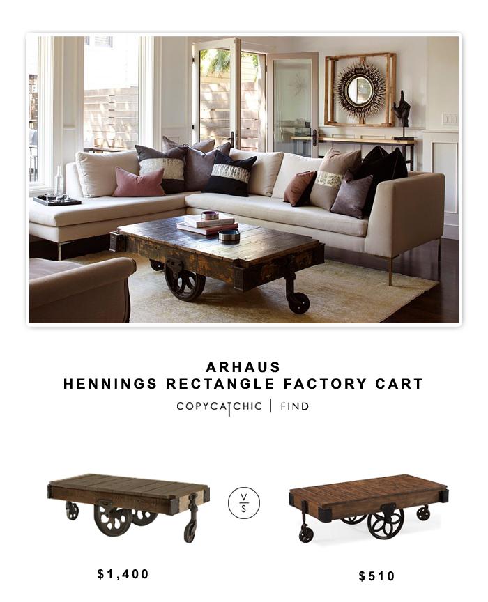 Arhaus Hennings Rectangular Cart