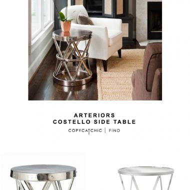 Arteriors Costello Iron Side Table