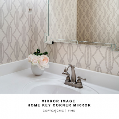 Zinc Door Mirror Image Home Key Corner Mirror