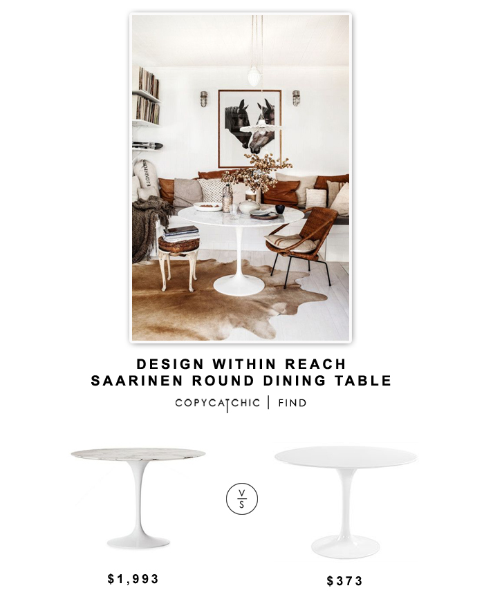 Design Within Reach Saarinen Round Dining Table Copycatchic