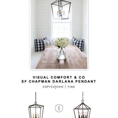 Visual Comfort & Co EF Chapman Darlana  Pendant
