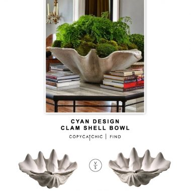 Cyan Design Clam Shell Bowl